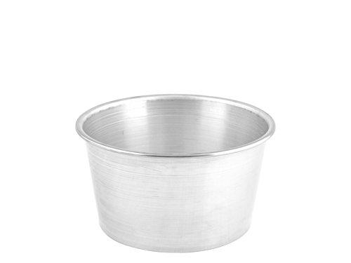 HABI Kuchenform Backform Panettone, Aluminium, Grau, 22x 22x 12cm