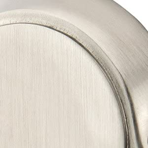 discount Emtek Traditional Brass Double Hook with Matching Finish Rosette - outlet online sale Choice of 9 outlet sale Finishes - 26098US15 - #8 (8) - Satin Nickel (US15) outlet online sale