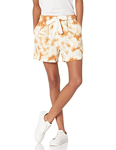 The Drop Women's Jasmine Vintage Twill Pull-On Short