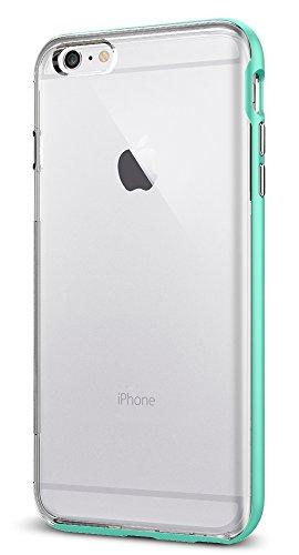 【Spigen】 iPhone6s Plus ケース / iPhone6 Plus ケース 二重構造 バンパー 背面クリア 米軍MIL規格取得 耐衝撃 ネオ・ハイブリッドEX SGP11672 (ミント)