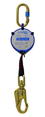 Irudek 100307700024 Anticaídas retráctil de cinta KOALA, dispositivo para...
