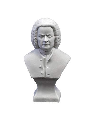Kämmer Porzellan Büste Bach klein