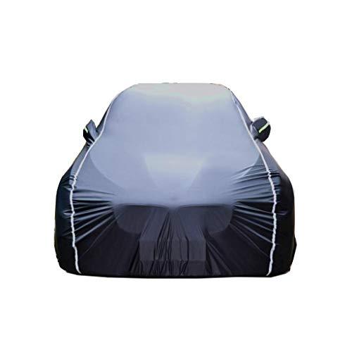 ZBM-ZBM compatibel met Suzuki Kizashi Car Cover, oven Universal Outdoor Car Cover (regen/zonwering) / sneeuw/stof/strepen/UV-bescherming) Zwart