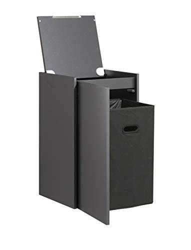 PELIPAL Neutrale Möbel Highboard/EM-HBW 43-02-L/R/Comfort N/B: 43,2 cm