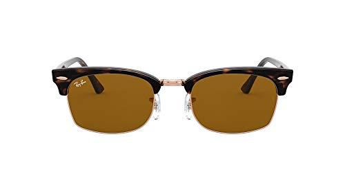 [レイバン] サングラス 0RB3916 CLUBMASTER SQUARE メンズ 130933 B-15 Brown 52