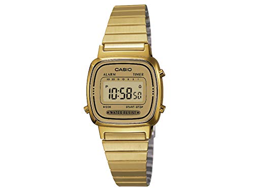 CASIO Women's Classic Vintage Quartz Watch with Stainless ...