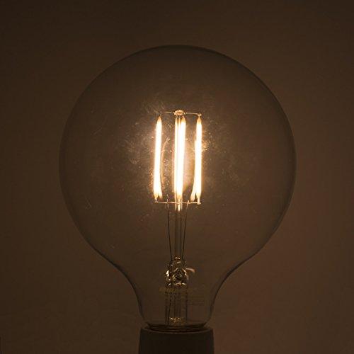 Bulbrite Led G40 Dimmable Medium Screw Base E26 Light Bulb 75 Watt Equivalent 2700k Clear Buy Online In Qatar At Qatar Desertcart Com Productid 81525043