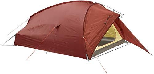 VAUDE 3-personen-zelt Taurus 3P, 3 Personen Kuppelzelt für Camping oder Wandertouren, leicht aufzubauen, buckeye, one Size, 114995940