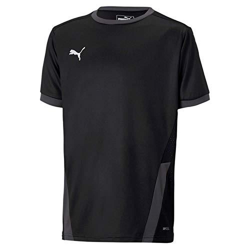 PUMA Kinder teamGOAL 23 Jersey jr T-shirt, Black-Asphalt, 164