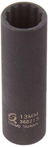 Sunex 368213 3/8-Inch Drive 13-mm 12-Point Deep Impact Socket