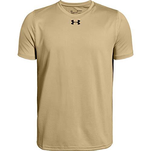 Under Armour Boys' Locker Tee Short-Sleeve T-Shirt , Team Vegas Gold (715)/ Black , Youth Large