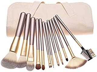 18 Pcs Pro Makeup Brush Set Synthetic Professional Makeup Brushes Foundation Powder Blush Eyeliner Brushes With Make Up Brushes Tool Kit