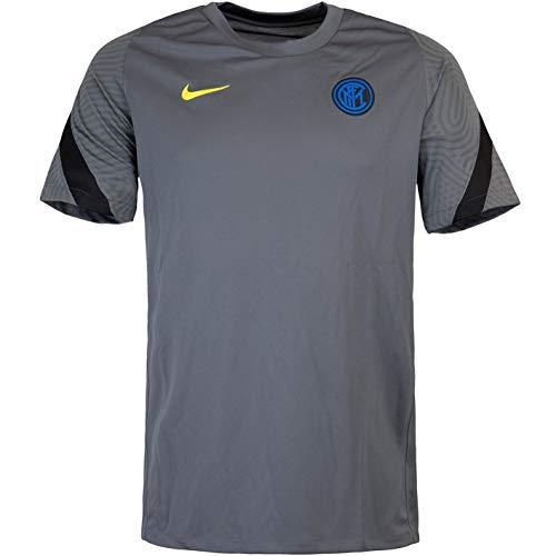 Nike Camiseta del Inter Milan Strike (XXL, gris oscuro)