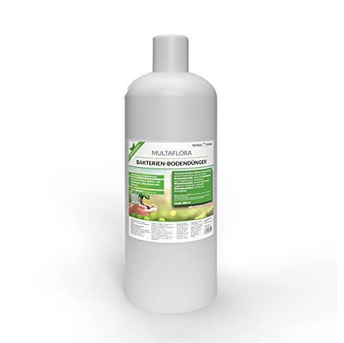 TerraDomi Multaflora 500ml Bakterien-Bodendünger für 200-300m² I effektives Wurzelwachstum und verbesserte Bodengesundheit I rein biologisch I für Rasen, Balkon- und Beetpflanzen, Obst und Gemüse
