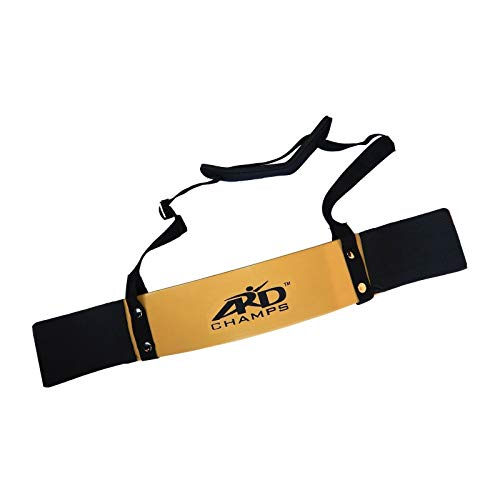 ARDChamps Heavy Duty Arm Blaster Body Building Bomber Bicep Curl Triceps Gold New