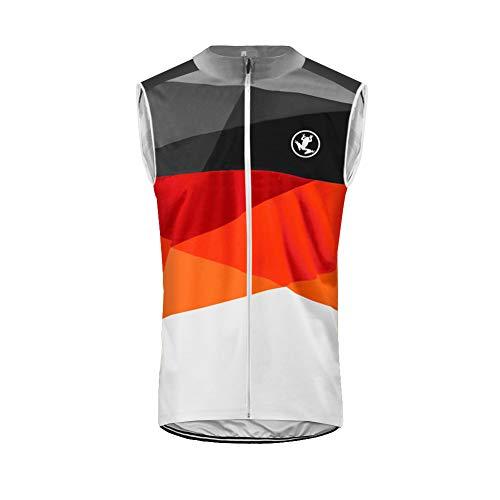 Uglyfrog Chalecos Ciclismo Otoño/Invierno Moda Hombre Térmico Fleece Sin Mangas Jersey Ropa Bicicleta Windproof Secado Rápid ESH19VSVZR11