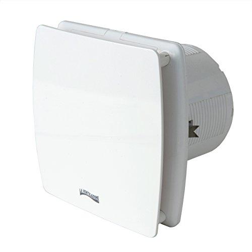 La Ventilazione AA12B Aspiratore Elicoidale Estetico Bianco, per Foro diametro 120 mm / 5