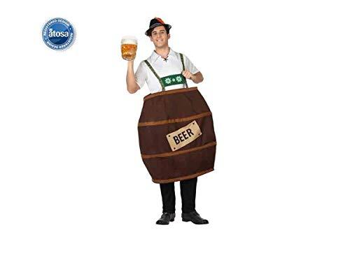 Costume Botte Di Birra Adulto Xl