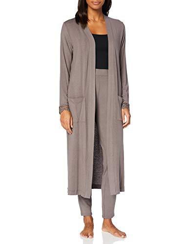 CALIDA Damen Favourites History Pyjamaset, Toasted Taupe, XS