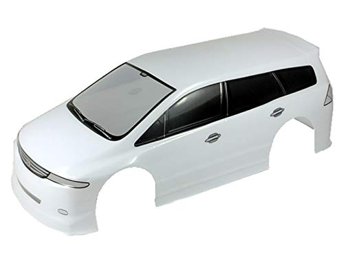 Novahobby 1/10 Scale RC Painted Precut Drift Racing Touring Onroad Car Body Shell Width 190mm (Odyssey Van White)