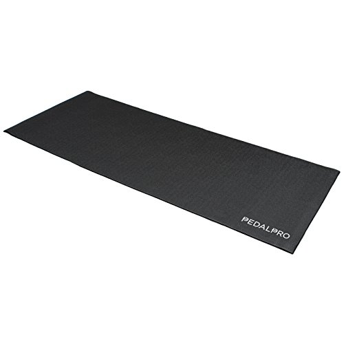 PedalPro Shock Resistant Exercise Bike/Trainer Floor Protector Mat