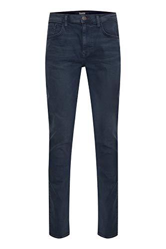 Blend Herren Twister Noos Slim Jeans, Schwarz (Denim Black Blue 76214), W38/L32 (Herstellergröße: 38/32)