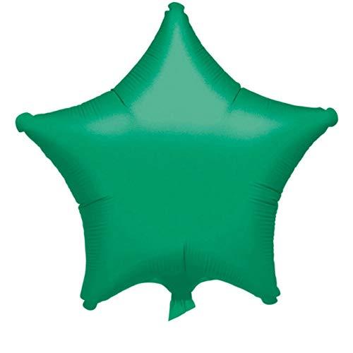 Amscan 3055701 Folienballon Stern, Grün