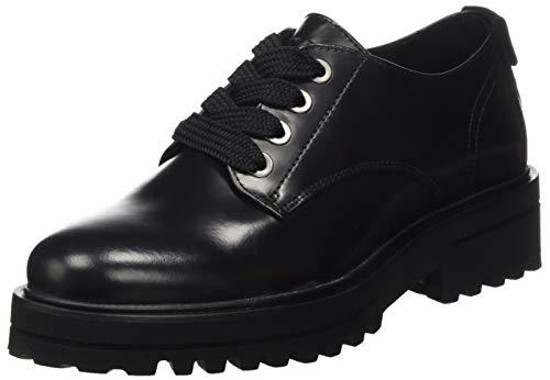 Marc O'Polo Damen 00715963401124 Oxford-Schuh, 990 Black, 40 EU