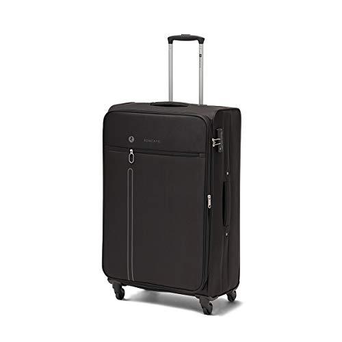 R Roncato Large Travel Suitcase One Way Series Size L 80 x 48 x 30 4 W TSA Colour Black