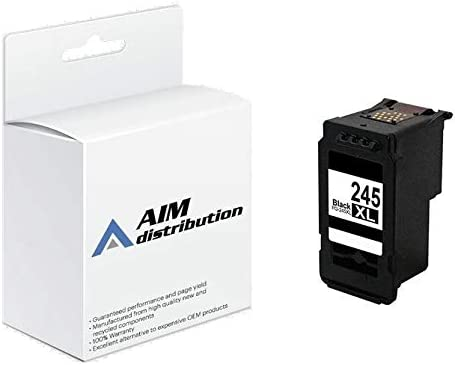 AIM Compatible Replacement for Canon PG-545 Black High Yield Inkjet (300 Page Yield) - for Use in USA Only - Generic
