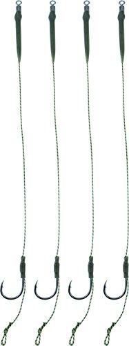 Storfisk fishing & more Boilie Rig Karpfen Vorfach 20 cm lang, kurzer Schenkel, Größe:8, Stück:2 Stück