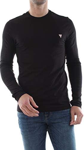 Guess Camiseta T-Shirt UOMO Color Negro para Hombre M01I34-J1300