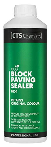 Block Paving Sealer HK-1 1L, Retains The Original Block Paving Color, Reduces The Absorbability of The Substrate, enhances Resistance to Dirt and Efflorescence.