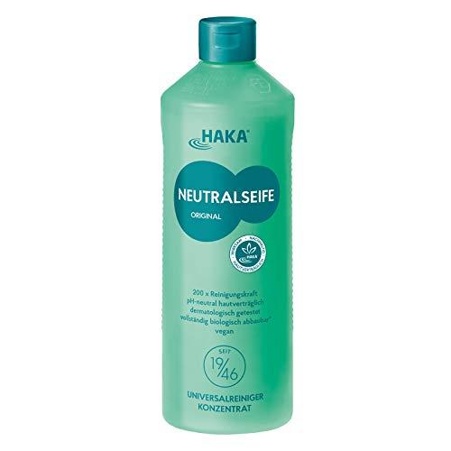 HAKA Neutralseife Pastös I 1 kg Neutralreiniger I Universalreiniger für Haushalt und Auto I PH-neutrales Reinigungsmittel