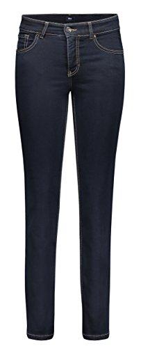 MAC Damen Straight Leg Jeanshose Melanie, Blau (Blau Verwaschen/ Dark...