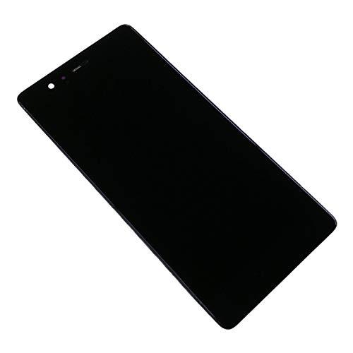 swark LCD Display Kompatibel mit Huawei P9 Standard EVA-L09 EVA-L19 EVA-L29 Touchscreen Bildschirm Digitizer Assembly Glas + Rahmen+Tools (Schwarz)