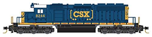 Micro-Trains MTL Z-Scale EMD SD40-2 Locomotive CSX Transportation (Boxcar) #8244
