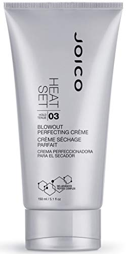 Joico Heat Set Blowout Perfecting Crème | Heat Protection | Protect Against Damage & Reduce Frizz | For Most Hair Types