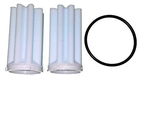 Afriso Siku Filtereinsatz mit O-Ring, Heizölfilter 2er Set Filter 50-75 µm
