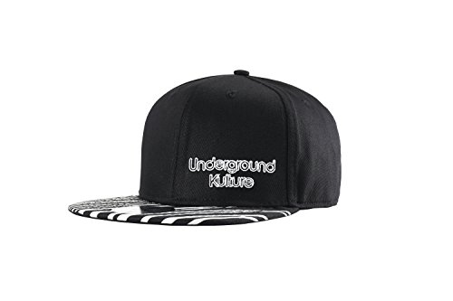 Underground KultureBerretto da Baseball Tropical Series Snapback Zebra