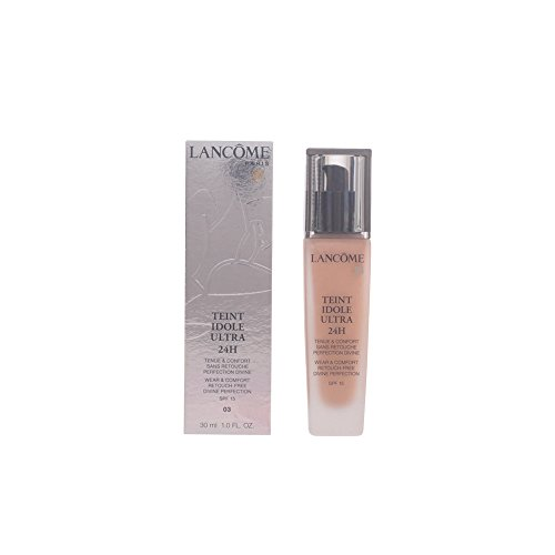 Lancome Teint Idole Ultra 24h Wear and Comfort SPF 15 03 Beige Diaphane for Women, 1 Ounce