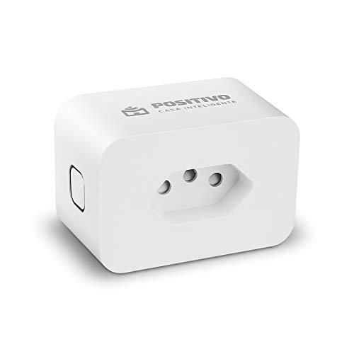 Smart Plug Wi-Fi Positivo Casa Inteligente, 10A, NBR 14136, configuração rápida, 1.000W Bivolt – Compatível com Alexa