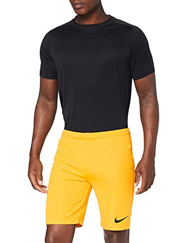 Nike Park II Knit Short NB Pantalón corto, Hombre, Dorado/Negro (University Gold/Black), S