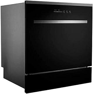 WYZXR Gabinete para lavavajillas, Platos de Secado de Limpieza rápida, Ahorro de energía, 4 programas, lavaplatos empotrados para Cocina en el hogar, lavaplatos Compacto de 8 Lugares