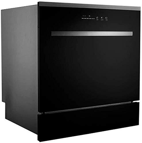 WYZXR Lavavajillas de encimera Compacto, 8 Cubiertos para Apartamentos, restaurantes y cocinas domésticas, Platos de Secado y Limpieza rápidos Que ahorran energía