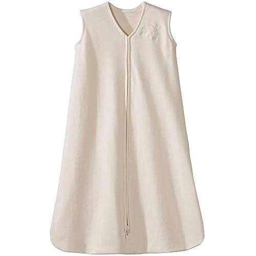 HALO Sleepsack 100% Cotton Wearable Blanket, Cream, X-Large