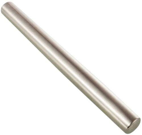 ZHHZ Rodillo Profesional de Acero Inoxidable, Metal para Hornear Masa de pastelería de Galletas (tamaño: 35 cm)