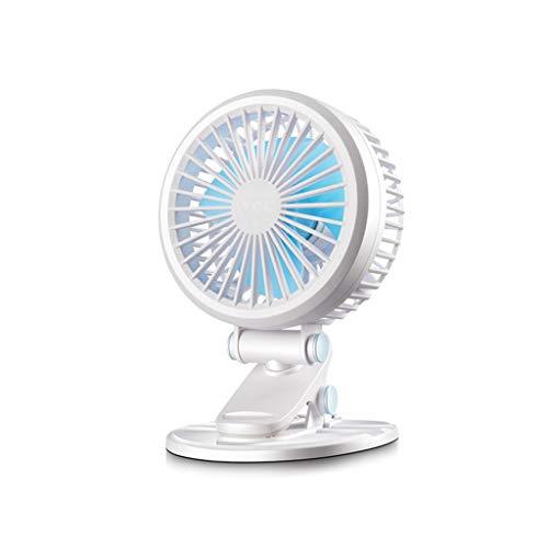Ventilador de mesa C-J-Xin de fácil ventilador, aprenda independencia, ángulo de inclinación ajustable, base Cooler de algodón antideslizante,