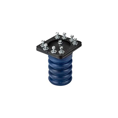 SuperSprings SSR-307-40 | SumoSprings Rear for Dodge RAM 1500, Blue, 1000 lbs.