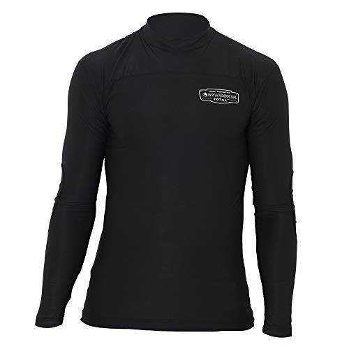 RYNOSKIN Hunting and Outdoor Clothing Base Layer Protection Camping Fishing Hunting Activities for Men Women Kids - Long Sleeve Shirt, Black, XX-Large